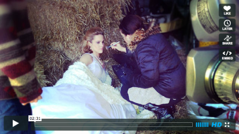 Sneak peek video of winter photo shoot