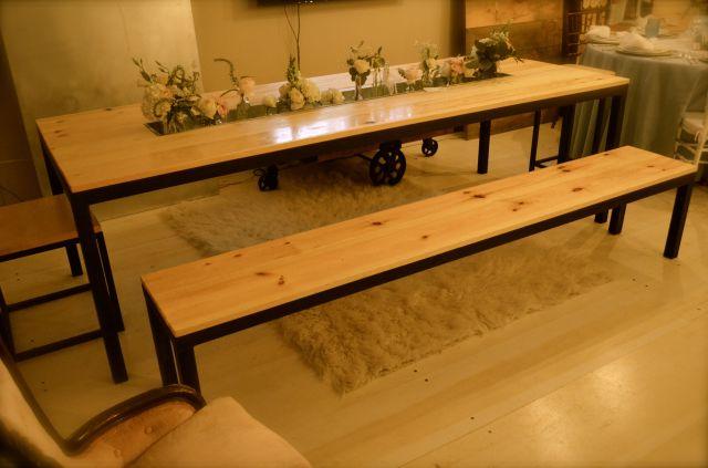 Parsons Table - Trough Table