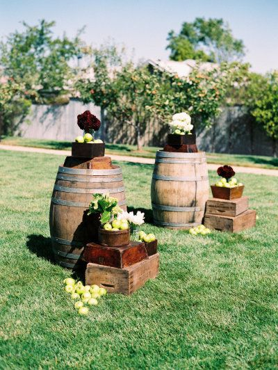 Wine Barrels different uses