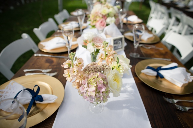 necr, new england country rentals, farm table, white runner, battenberg napkins, party rentals, wedding rentals, event rentals, rustic table
