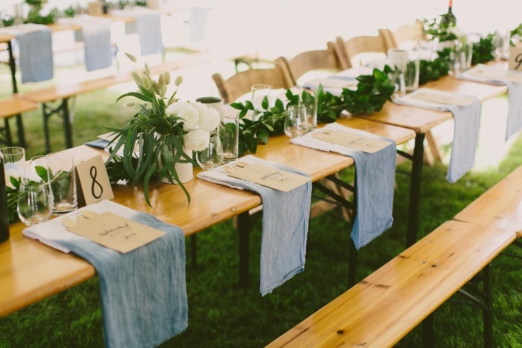 Lovely Biergarten Table Setup_23030362263_o