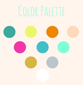 Beachy color palette