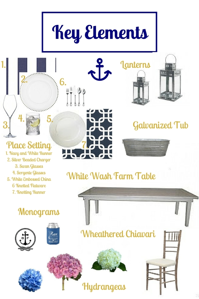 Preppy Nautical Key Elements